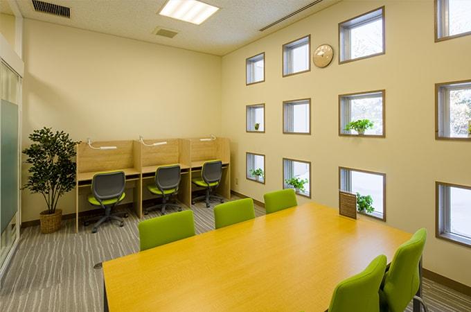 相談室・集中スペースの写真